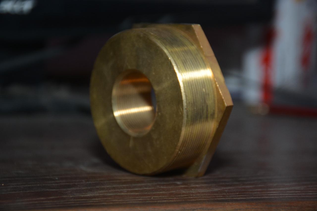 Brass stoping plug
