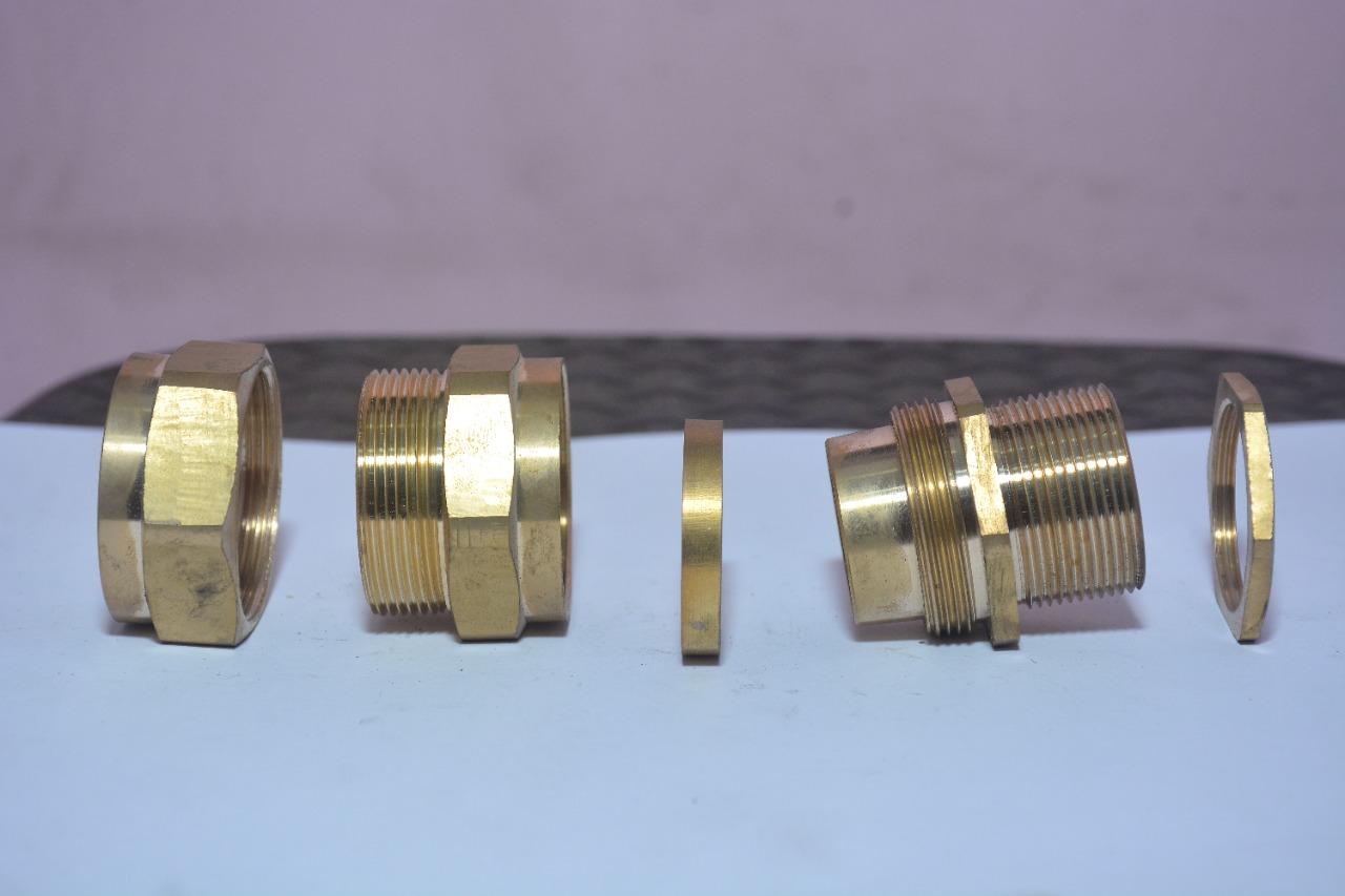 Brass CW with long nipple